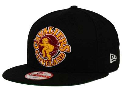Cleveland Cavaliers New Era NBA HWC The Letter Man 9FIFTY Snapback Cap