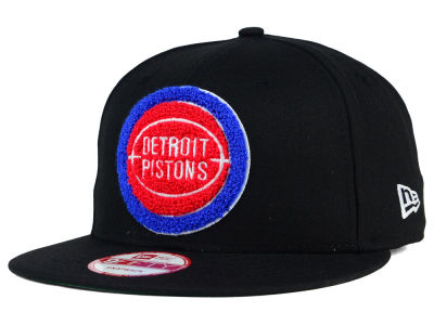 Detroit Pistons New Era NBA HWC The Letter Man 9FIFTY Snapback Cap