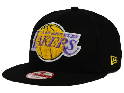 Los Angeles Lakers New Era NBA HWC The Letter Man 9FIFTY Snapback Cap