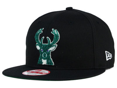 Milwaukee Bucks New Era NBA HWC The Letter Man 9FIFTY Snapback Cap