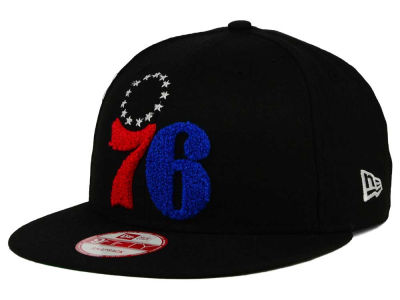 Philadelphia 76ers New Era NBA HWC The Letter Man 9FIFTY Snapback Cap