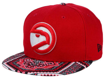 Atlanta Hawks New Era NBA HWC Kaleidovize 9FIFTY Snapback Cap