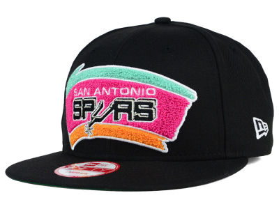 San Antonio Spurs New Era NBA HWC The Letter Man 9FIFTY Snapback Cap