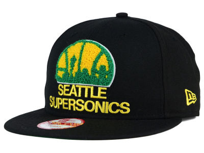 Seattle SuperSonics New Era NBA HWC The Letter Man 9FIFTY Snapback Cap