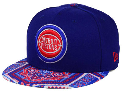 Detroit Pistons New Era NBA HWC Kaleidovize 9FIFTY Snapback Cap