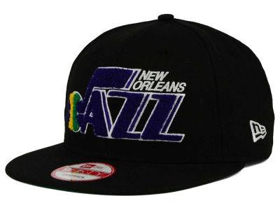 Utah Jazz New Era NBA HWC The Letter Man 9FIFTY Snapback Cap