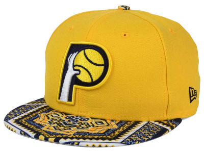 Indiana Pacers New Era NBA HWC Kaleidovize 9FIFTY Snapback Cap