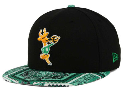 Milwaukee Bucks New Era NBA HWC Kaleidovize 9FIFTY Snapback Cap