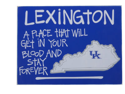 Kentucky Wildcats Map Board