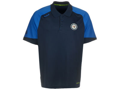 Winnipeg Jets Reebok NHL Men's CN Polo Shirt