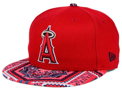 Los Angeles Angels New Era MLB Kaleidovize 9FIFTY Snapback Cap