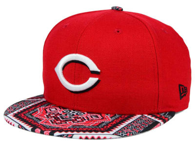 Cincinnati Reds New Era MLB Kaleidovize 9FIFTY Snapback Cap