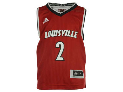 Louisville Cardinals adidas NCAA Kids Replica Road Jersey