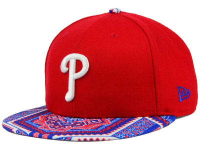 Philadelphia Phillies New Era MLB Kaleidovize 9FIFTY Snapback Cap