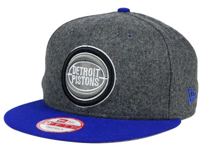 Detroit Pistons New Era NBA HWC Shader Melt 9FIFTY Snapback Cap