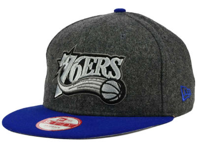 Philadelphia 76ers New Era NBA HWC Shader Melt 9FIFTY Snapback Cap