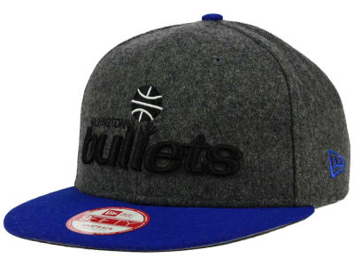 Washington Bullets New Era NBA HWC Shader Melt 9FIFTY Snapback Cap
