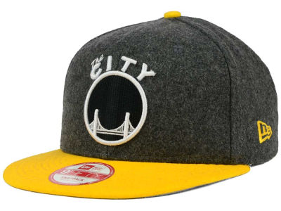Golden State Warriors New Era NBA HWC Shader Melt 9FIFTY Snapback Cap