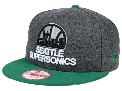 Seattle SuperSonics New Era NBA HWC Shader Melt 9FIFTY Snapback Cap