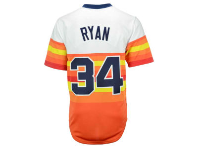 Houston Astros Nolan Ryan Mitchell and Ness MLB Men's Authentic Jersey
