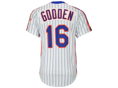 New York Mets Dwight Gooden Mitchell & Ness MLB Men's Authentic Jersey