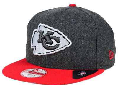 Kansas City Chiefs New Era NFL Shader Melt 9FIFTY Snapback Cap