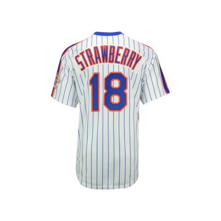 New York Mets Darryl Strawberry Mitchell & Ness MLB Men's Authentic Jersey