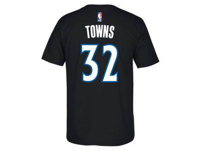 Minnesota Timberwolves Karl-Anthony Towns NBA Youth Name And Number T-Shirt