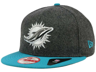 Miami Dolphins New Era NFL Shader Melt 9FIFTY Snapback Cap