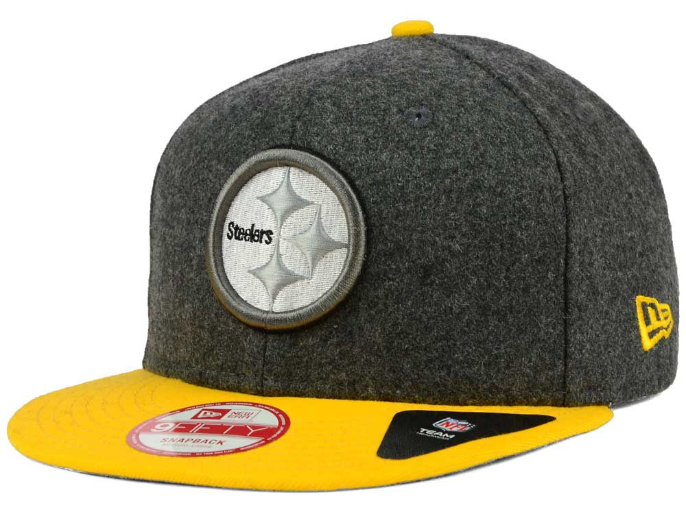 Pittsburgh Steelers New Era NFL Shader Melt 9FIFTY Snapback Cap ... 300d51d76