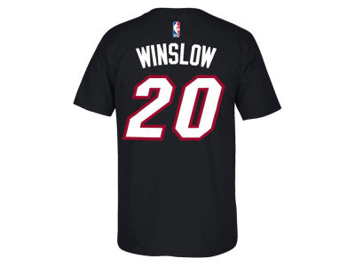 Miami Heat Justise Winslow NBA Youth Name And Number T-Shirt