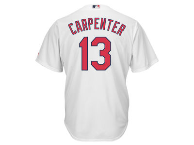 St. Louis Cardinals Matt Carpenter Majestic MLB Youth Player Replica Cool Base Jersey