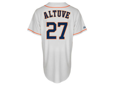 Houston Astros Jose Altuve Majestic MLB Youth Player Replica Cool Base Jersey