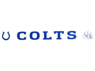 Indianapolis Colts 2x17 Die Cut Decal