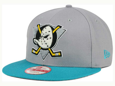 Anaheim Ducks New Era NHL The Letter Man 9FIFTY Snapback Cap