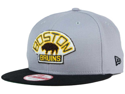 Boston Bruins New Era NHL The Letter Man 9FIFTY Snapback Cap