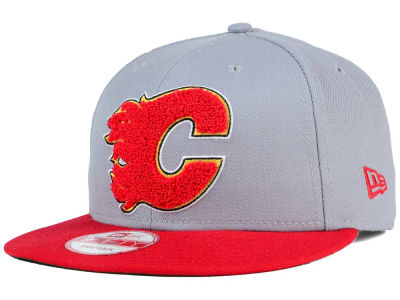Calgary Flames New Era NHL The Letter Man 9FIFTY Snapback Cap