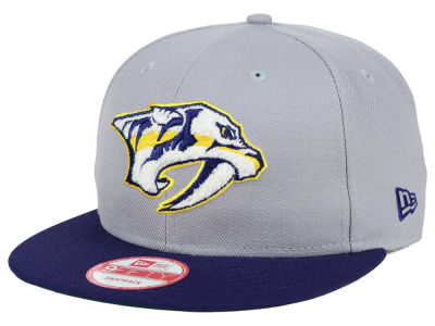 Nashville Predators New Era NHL The Letter Man 9FIFTY Snapback Cap