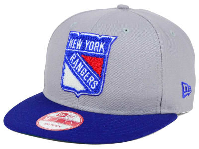 New York Rangers New Era NHL The Letter Man 9FIFTY Snapback Cap