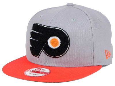Philadelphia Flyers New Era NHL The Letter Man 9FIFTY Snapback Cap