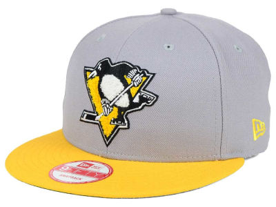Pittsburgh Penguins New Era NHL The Letter Man 9FIFTY Snapback Cap