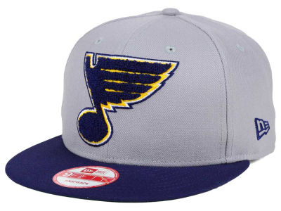 St. Louis Blues New Era NHL The Letter Man 9FIFTY Snapback Cap