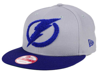 Tampa Bay Lightning New Era NHL The Letter Man 9FIFTY Snapback Cap