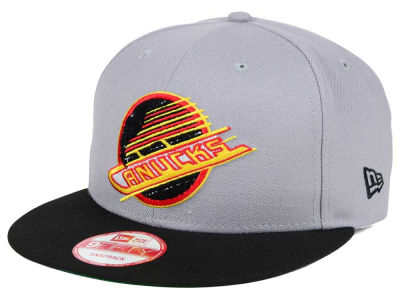 Vancouver Canucks New Era NHL The Letter Man 9FIFTY Snapback Cap