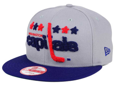 Washington Capitals New Era NHL The Letter Man 9FIFTY Snapback Cap