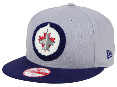 Winnipeg Jets New Era NHL The Letter Man 9FIFTY Snapback Cap