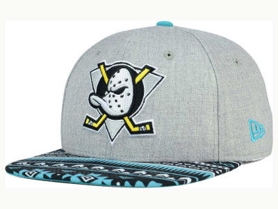Anaheim Ducks New Era NHL Neon Mashup 9FIFTY Snapback Cap