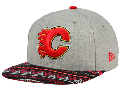 Calgary Flames New Era NHL Neon Mashup 9FIFTY Snapback Cap