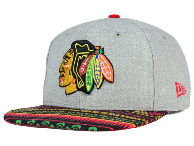 Chicago Blackhawks New Era NHL Neon Mashup 9FIFTY Snapback Cap