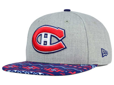 Montreal Canadiens New Era NHL Neon Mashup 9FIFTY Snapback Cap